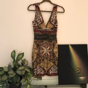 Nicole Miller Collection Safari Cocktail dress